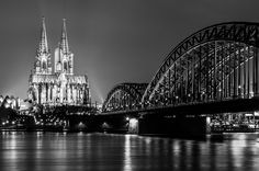 Cologne Cathedral by Sebastian Leistenschneider, via 500px