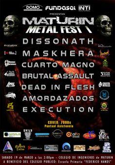 "Domo Producciones presenta: ""Maturín Metal Fest I"" http://crestametalica.com/events/domo-producciones-presenta-maturin-metal-fest-i/ vía @crestametalica"
