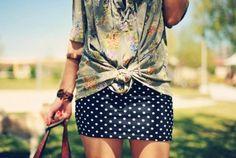 Poá, verão 2014, summer2014, mix de estampas, floral