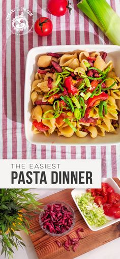 Fast And Easy Pasta Dinner Recipe
