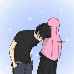 Read Couple Halal from the story Gambar Muslimah by (Zhafira Rochimi) with reads. Love Cartoon Couple, Cute Couple Art, Cute Love Cartoons, Anime Love Couple, Cute Muslim Couples, Cute Couples, Cute Couple Selfies, Muslim Couple Photography, Animated Love Images