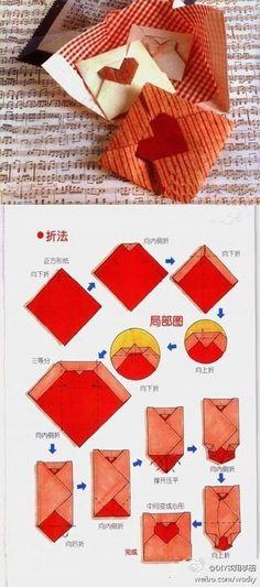 折纸艺术..,Origami Crafts for Kids, Free Printable Origami Patterns, Tutorial, crafts, paper crafts, printable kids activities, origami animal patterns, cute panda origami paper crafts, heart origami tutorial