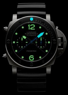 Three Panerai Luminor Submersible watches, one Panerai Radiomir, and one special novel reissue at SIHH Dream Watches, Fine Watches, Cool Watches, Panerai Luminor Submersible, Panerai Radiomir, Panerai Watches, Luxury Gifts For Men, Luxury Watches For Men, Skeleton Watches