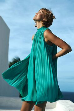 Seaglass Swing Dress