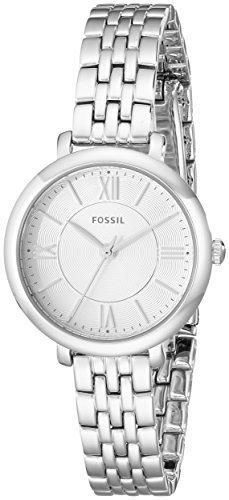 Fossil Women's ES3797 Jacqueline Stainless Steel Bracelet Watch