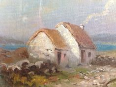 George Horne Oil Painting Of The Rosses, Co Donegal, Ireland. Superb painting