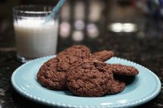 Homemade Double Chocolate Lactation Cookies :http://buttercreamsugar.com/homemade-double-chocolate-lactation-cookies/