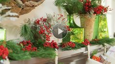 Watch Christmas Decorating in Red and Green in the Better Homes and Gardens Video