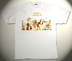 GENESIS (AND RELATED) deluxe custom art unique T-shirts