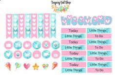 Planner stickers are sized to fit your Erin Condren Life Planner , BUT will work well with other planners like MAMBI, Filofax, Kate Spade, Kikki K