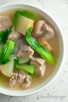 Filipino Pork Nilaga Recipe More