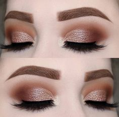 Haven't done a daytime smokey eye in a while 😊 loving this one! - Eyeshado - Haven't done a daytime smokey eye in a while 😊 loving this one! Natural Eye Makeup, Eye Makeup Tips, Makeup For Brown Eyes, Smokey Eye Makeup, Makeup Goals, Skin Makeup, Eyeshadow Makeup, Makeup Inspo, Gold Eyeshadow Looks
