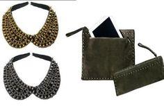 Regali Natale: clutch porta tablet o colletto gioiello di Alysi