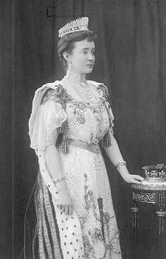 Princess Louise, Duchess of Connaught and Strathearn. Photographed August 9th, 1902, for the coronation of King Edward VII.