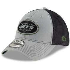 brand new c2407 ed924 Men s New York Jets New Era Gray Graphite Two-Tone Sided 39THIRTY Flex Hat,  Your Price   25.99