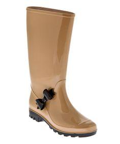 Nude Rainyside Rain Boot These rain boots are so adorable!
