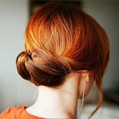 25 More Totally Pretty 10-Minute Hairstyles like the Gibson Tuck (via Sara Lynn Paige)