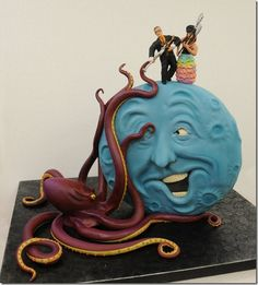 A Cake This Good Only Comes Along Once In A Blue Moon This masterpiece was created by Mike McCarey and his team from Mike's Amazing Cakes.