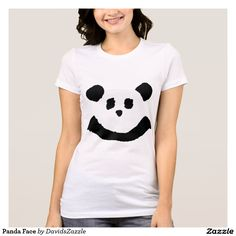 Panda Face Women's Tee  Available on more products! Type in the name of the design in the search bar on my Zazzle Products Page. Thanks for looking!   #tee #shirt #t-shirt #clothes #fashion #childs #children #kid #men #women #adult #unisex #sweatshirt #shirt #long #sleeve #hoody #jacket #girl #boy #fun #zazzle #buy #sale #cute #cuddly #panda #bear #cartoon #illustration #black #white #drawing #nature #planet #earth #animal #friend