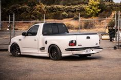 Tow Truck, Go Truck, Show Truck: Clean, concise, and riding on air, this is one wicked white Lightning ...