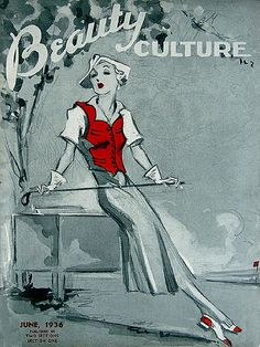 Beauty Culture Magazine from 1936