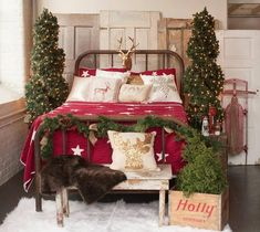 Cozy Christmas Bedroom Decor Ideas for the Holidays - Christmas Decorations -