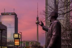 Berlin TV Tower by Marcello Zerletti on 500px