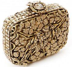 Siena Mini Crystal Handbag - M Wedding Clutch, Bridal Clutch, Beaded Purses, Beaded Bags, Beautiful Handbags, Beautiful Bags, Fashion Bags, Fashion Accessories, Fashion Plates