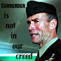 Discover and share Clint Eastwood Heartbreak Ridge Quotes. Explore our collection of motivational and famous quotes by authors you know and love. Kyle Eastwood, Clint Eastwood Quotes, Alison Eastwood, Heartbreak Ridge Quotes, Men Quotes, Movie Quotes, Francesca Eastwood, Military Rule, Frances Fisher
