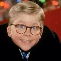 A Christmas Story - Ralphie (Peter Billingsley) ... he was so adorable!