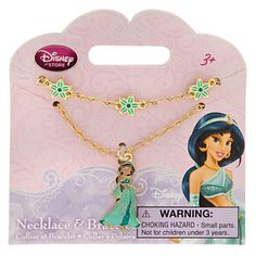 Jasmine Necklace and Bracelet Set 7 Year Old Christmas Gifts, Disney Frozen Bedroom, Disney Princess Jewelry, My Little Pony Dolls, Unicorn Books, Best Kids Watches, Halloween Costumes For Teens, Little Girl Outfits, Disney Merchandise