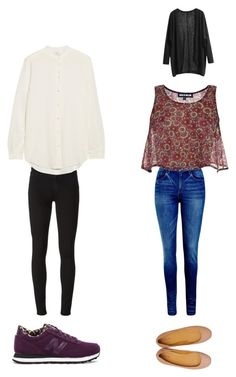 """School"" by margot-52 ❤ liked on Polyvore featuring Paige Denim, Equipment, New Balance, Levi's, House of Holland and Tatoosh"