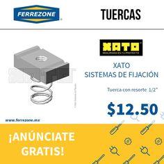 #Ferretería #SujetadoresIndustriales #Tuercas http://www.ferrezone.mx El mercado ferretero de México Anúnciate gratis