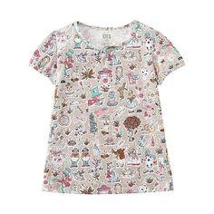 GIRLS LIBERTY LONDON for UNIQLO Short Sleeve T-Shirt-UNIQLOUKOnlinefashionstore