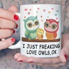 Teechip.com Owl Room Decor, Owl Always Love You, My Love, Owl Kitchen, Kitchen Decor, Owl Coffee, Coffee Cups, Wonderful Things, My Favorite Things