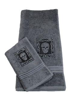 Skull Towel Set