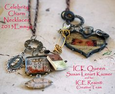 industrial chic jewelry   Susan Lenart Kazmer : Industrial Chic » The ICE Queen is at the Emmys ...