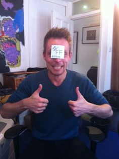 A big #FF from our Marketing Manager Steve x
