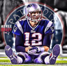 #FreeBrady Nfl Football Players, Football Helmets, Boston Sports, Tom Brady, New England Patriots, Super Bowl, Champion, Toms, Superhero