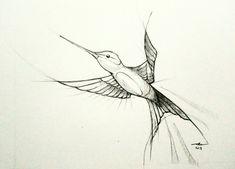 Pencil hummingbird