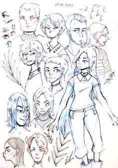 Sketchy sketches 23.10.17 by Madjsteie.deviantart.com on @DeviantArt