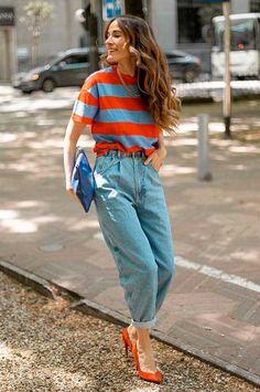 Fashion Mode, Look Fashion, Daily Fashion, Fashion Outfits, Spring Fashion, Looks Style, Casual Looks, Casual Chic, Pantalon Slouchy