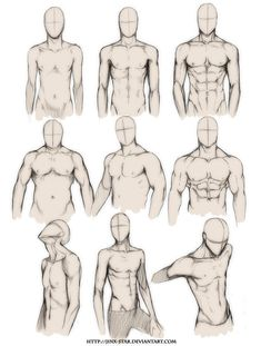 Jerome Okutho's insight: Need to practice drawing body types? If so, this reference guide will help you understand the fundamentals of different body types -- from muscular to skinny.