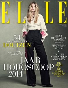 Doutzen Kroes - Elle Magazine Cover [Netherlands] (January 2014)