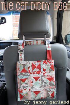 Car Diddy BagTutorial on the Moda Bake Shop. http://www.modabakeshop.com