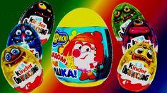 kinder surprise eggs Monsters Special Limited Edition Smeshariki 2014 ne... #Surpriseeggs #Toys #Disney #DisneyPixar #PixarCars #KinderSurprise #Surprise #Toy #MyLittlePony #HelloKitty #PeppaPig #MickeyMouse #Baby #Pixar #MinnieMouse #Cartoons #YouTube #Hello #spiderman #starwars #dora #Маша
