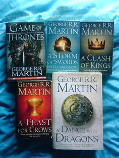 A Song of Ice and Fire ♥ Can't wait to finish yet I don't want to, lol!