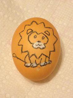 My lion Easter egg :)