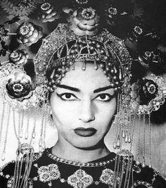 la divina: maria callas in turandot, Hermosa, Malvada, Fria, Mortal... Como no amarla!