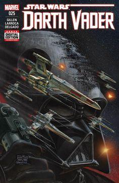 Juan Giménez se une a Darth Vader #25 con esta impresionante portada #StarWars #Cómic #Cine #Marvel